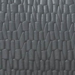 Rindsleder Grau geprägt